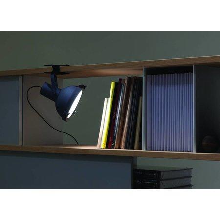 Nemo Table lamp - Projecteur 165 Clip - Night Bluee