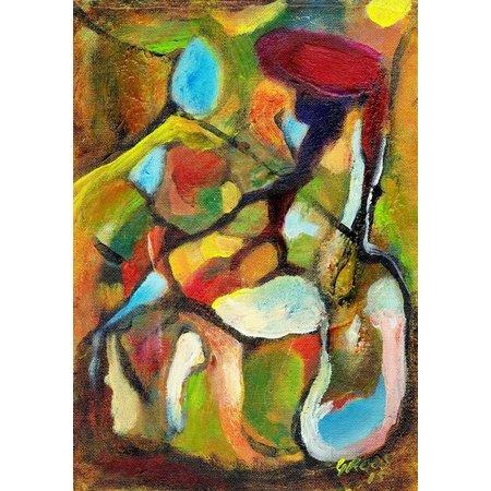 Schilderij A4 - nr - 40