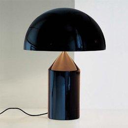 Oluce Atollo 233 - Tafellamp - Zwart