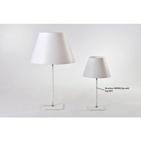 Axis71 One Table Small - Tafellamp - Bruin