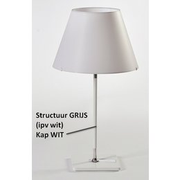 Axis71 Table Lamp - One Table Small - Gray
