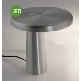 Martinelli Luce HOOP - LED Tafellamp - Grijs