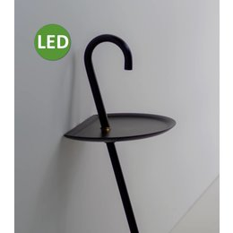 Martinelli Luce CLOCHARD - LED Staande lamp - Zwart