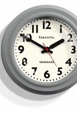 Newgate Telectric - wandklok - Grijs