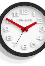 Newgate TIC 2 - wandklok - Zwart