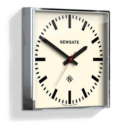 Newgate The Underpass Clock - Chrome