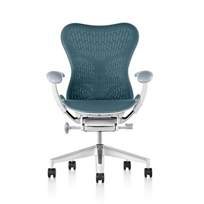 HermanMiller Mirra 2 Butterfly - Dark Turquoise - full options