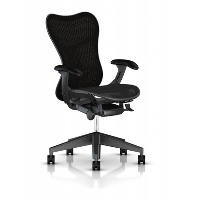 HermanMiller Mirra 2 Butterfly - Black - full options - Voorraad model
