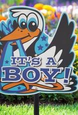 Tuinbord It's a Boy