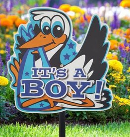 Tuinbord It's a Boy