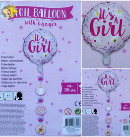 Folie ballon Its a Girl