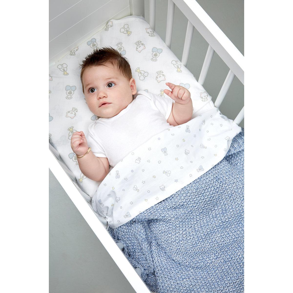 Woezel & Pip Baby Wieglaken Woezel & Pip Baby