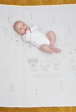 Woezel & Pip Baby Hydrofiele Mijlpaal Swaddle Woezel & Pip Baby