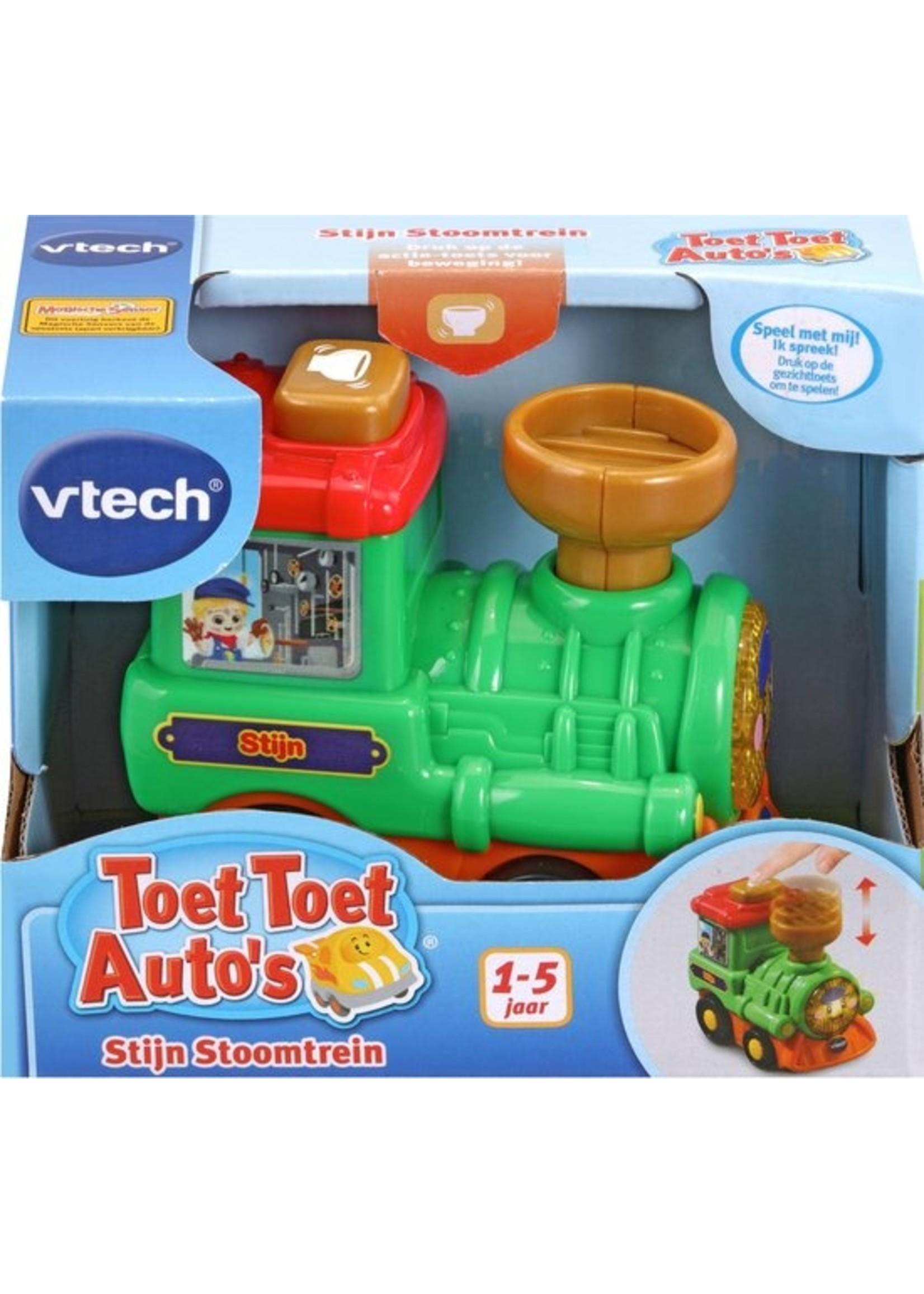Vtech Toet Toet Auto's Stijn Stoomtrein