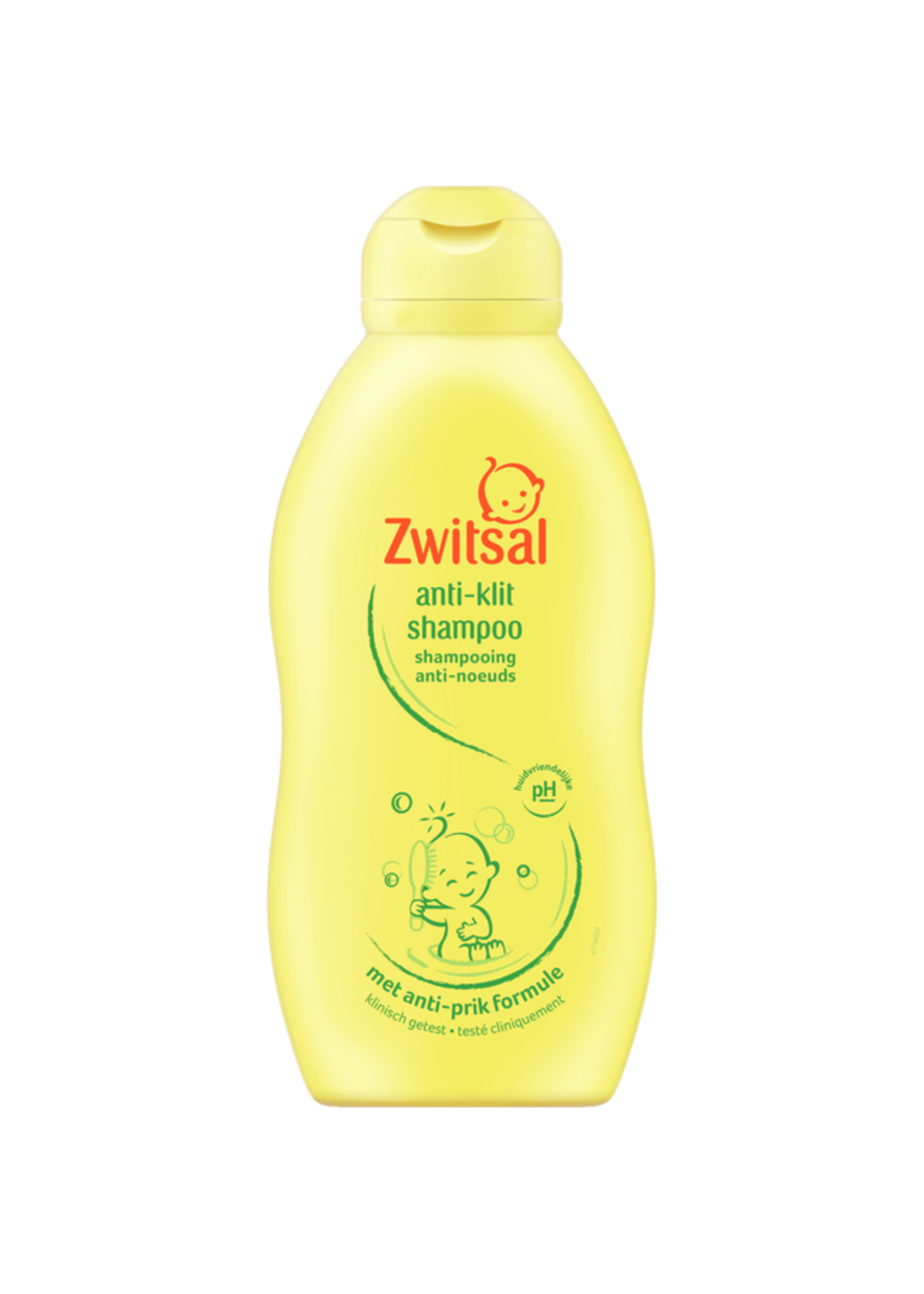 Zwitsal Anti-klit Shampoo 200ml