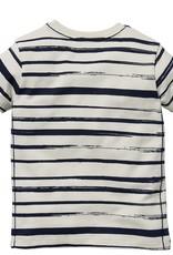 Quapi Shortsleeve Gali Dark Blue Stripe