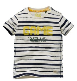 Quapi Shortsleeve Gali Dark Blue Stripe