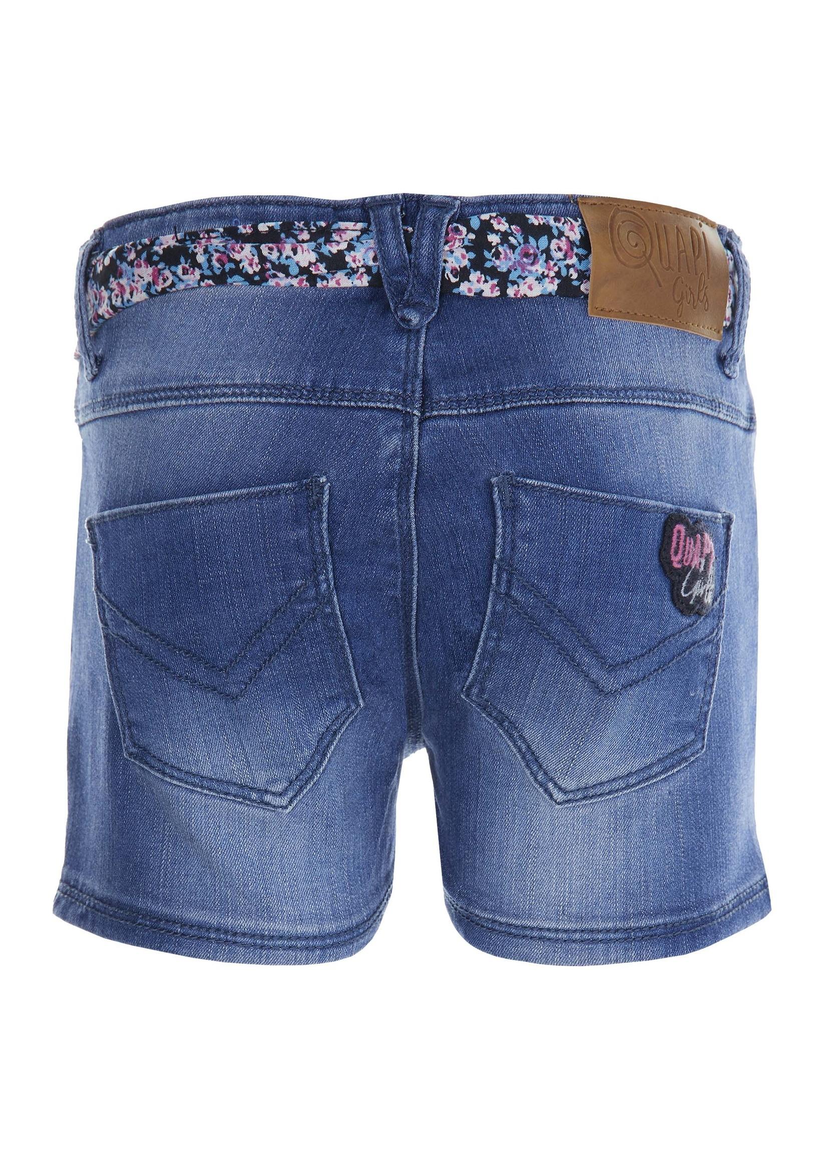 Quapi Shorts Fonne Denim Blue
