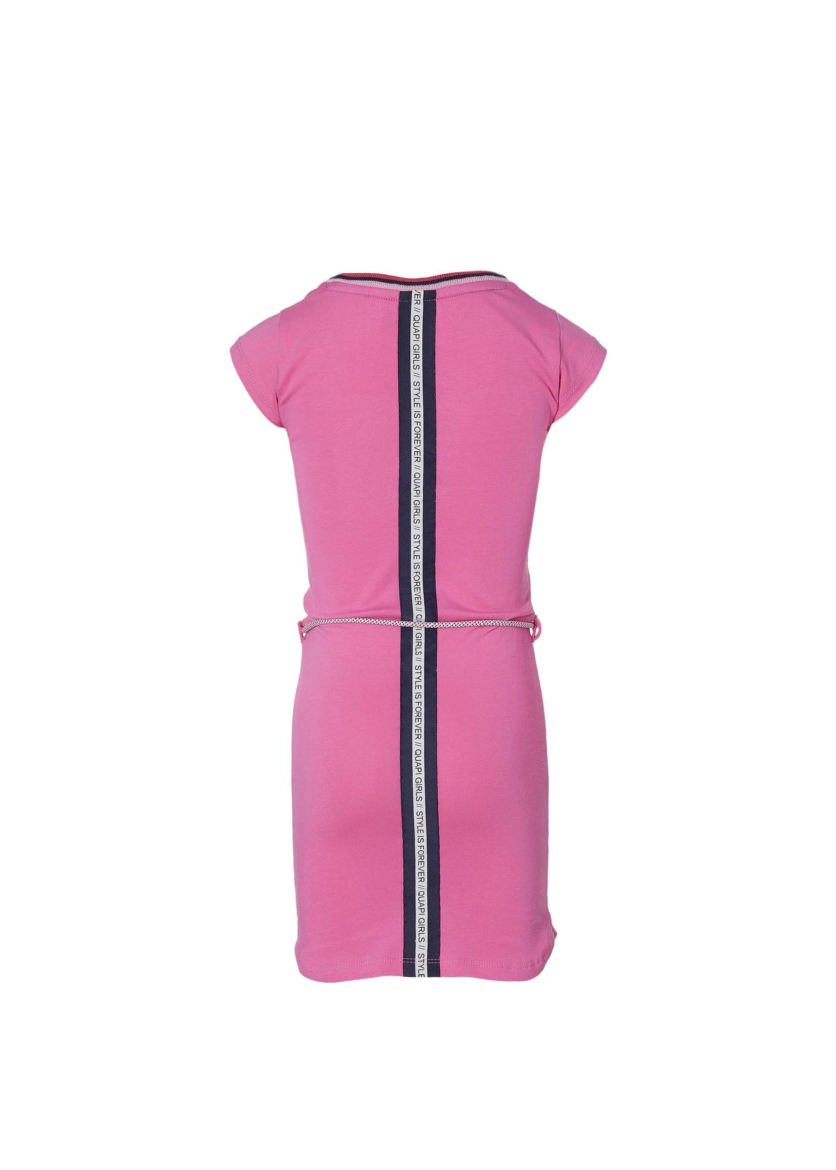 Quapi Jurk Fab Hot Pink