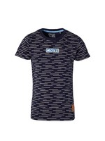 Quapi Shirt Faik Dark Blue Stripe