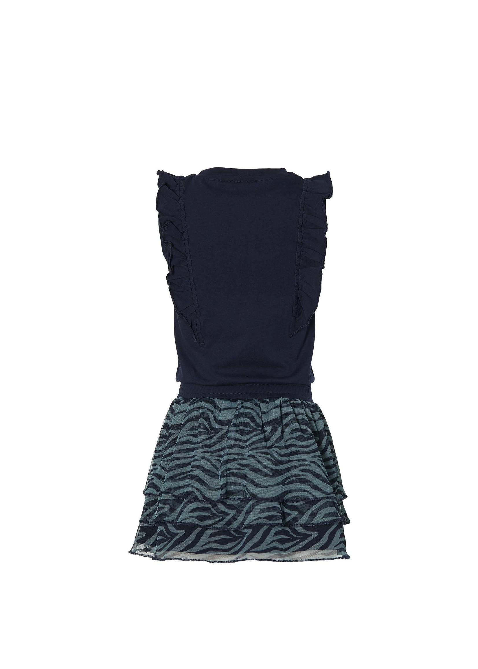 Quapi Jurk Fania Dark Blue