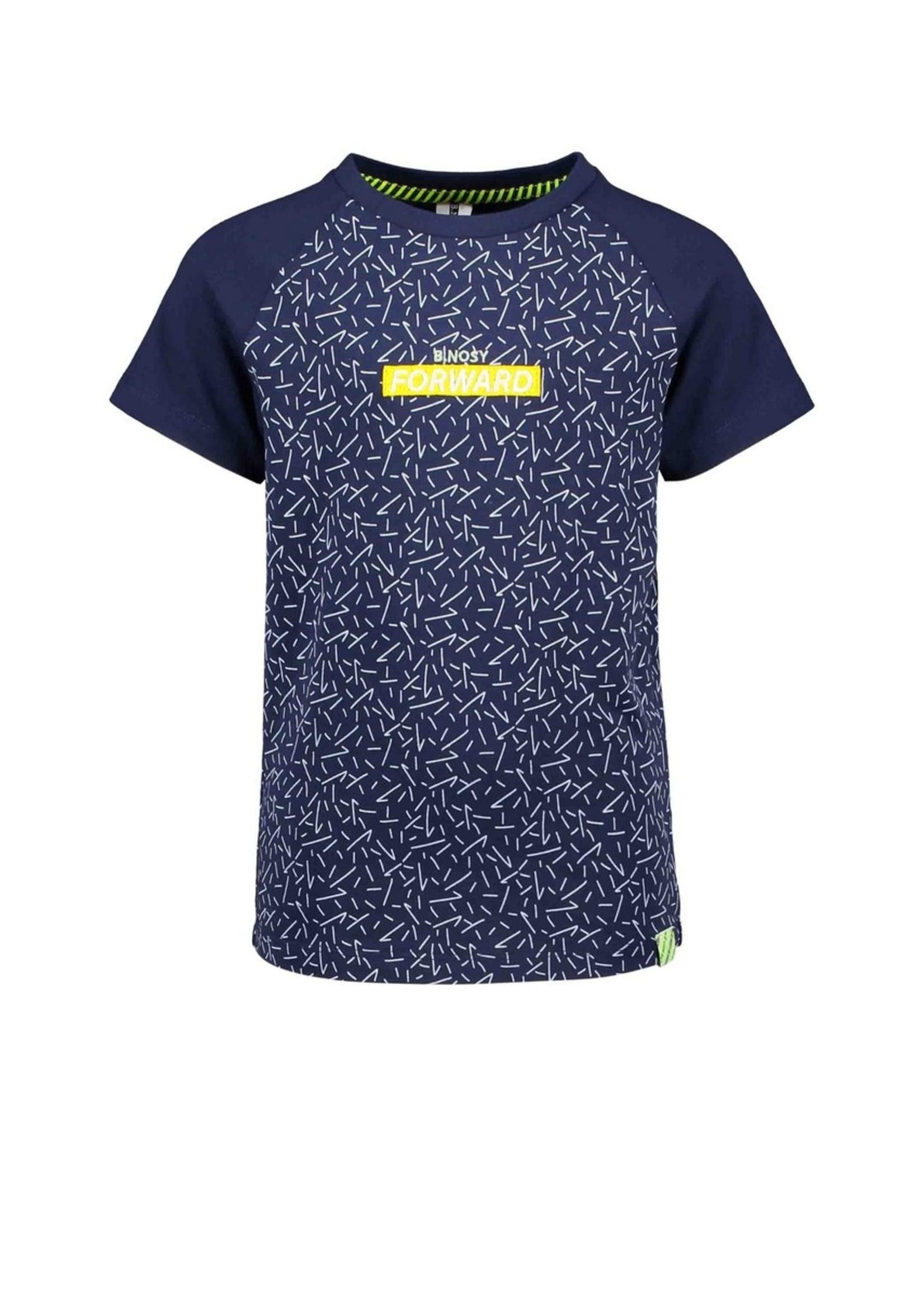 B.nosy Shirt Kris Kras Space Blue