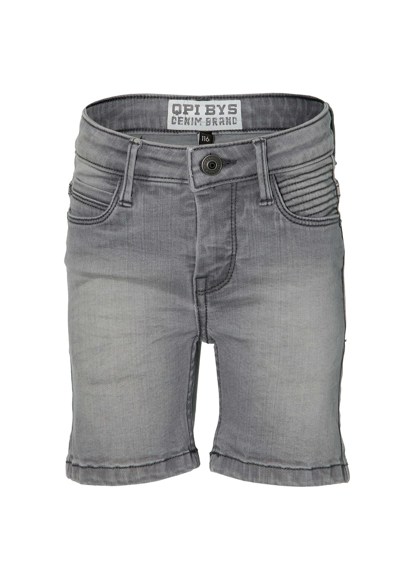 Quapi Shorts Folkert Light Grey Denim