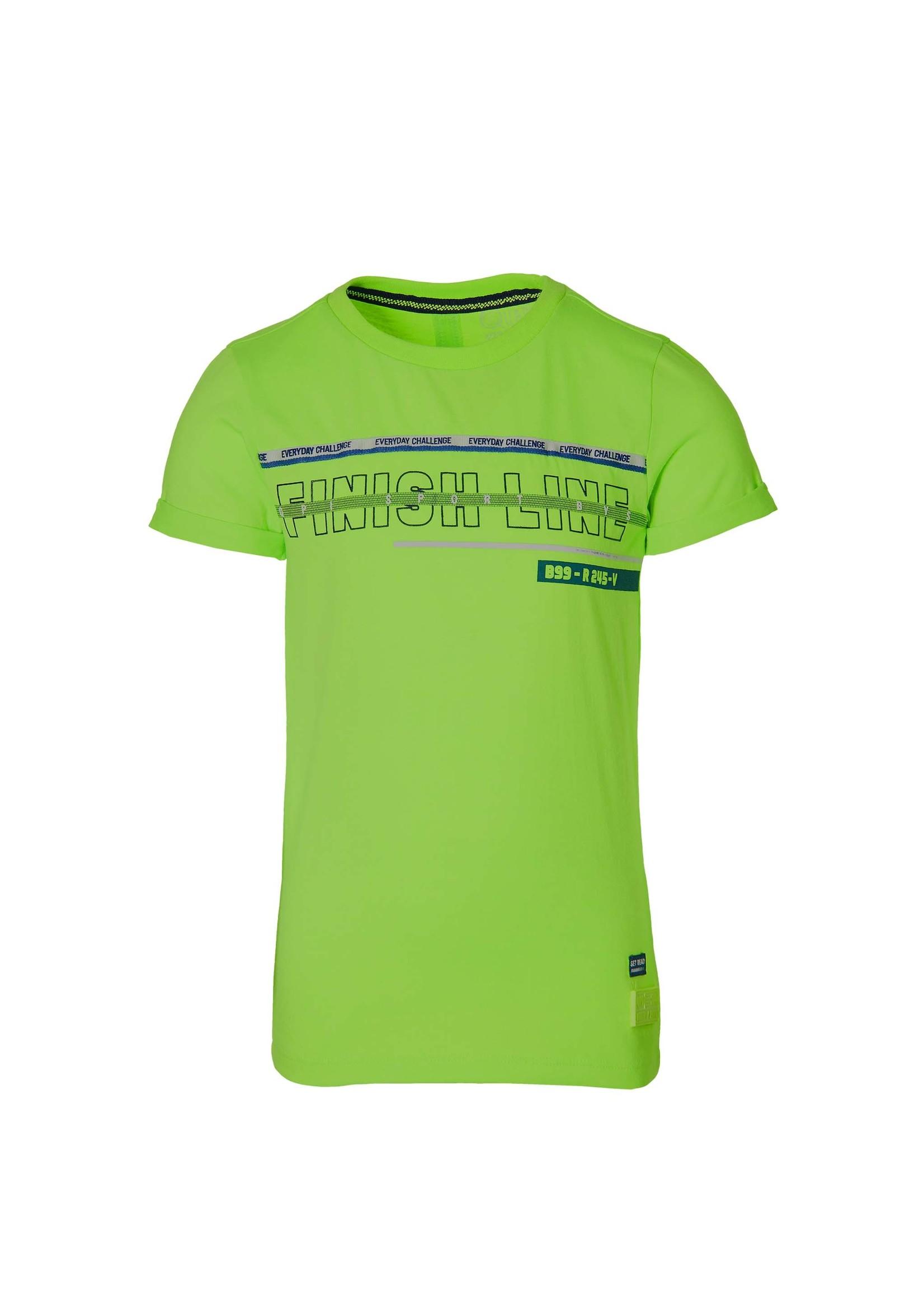 Quapi Shirt Felipe Neon Green