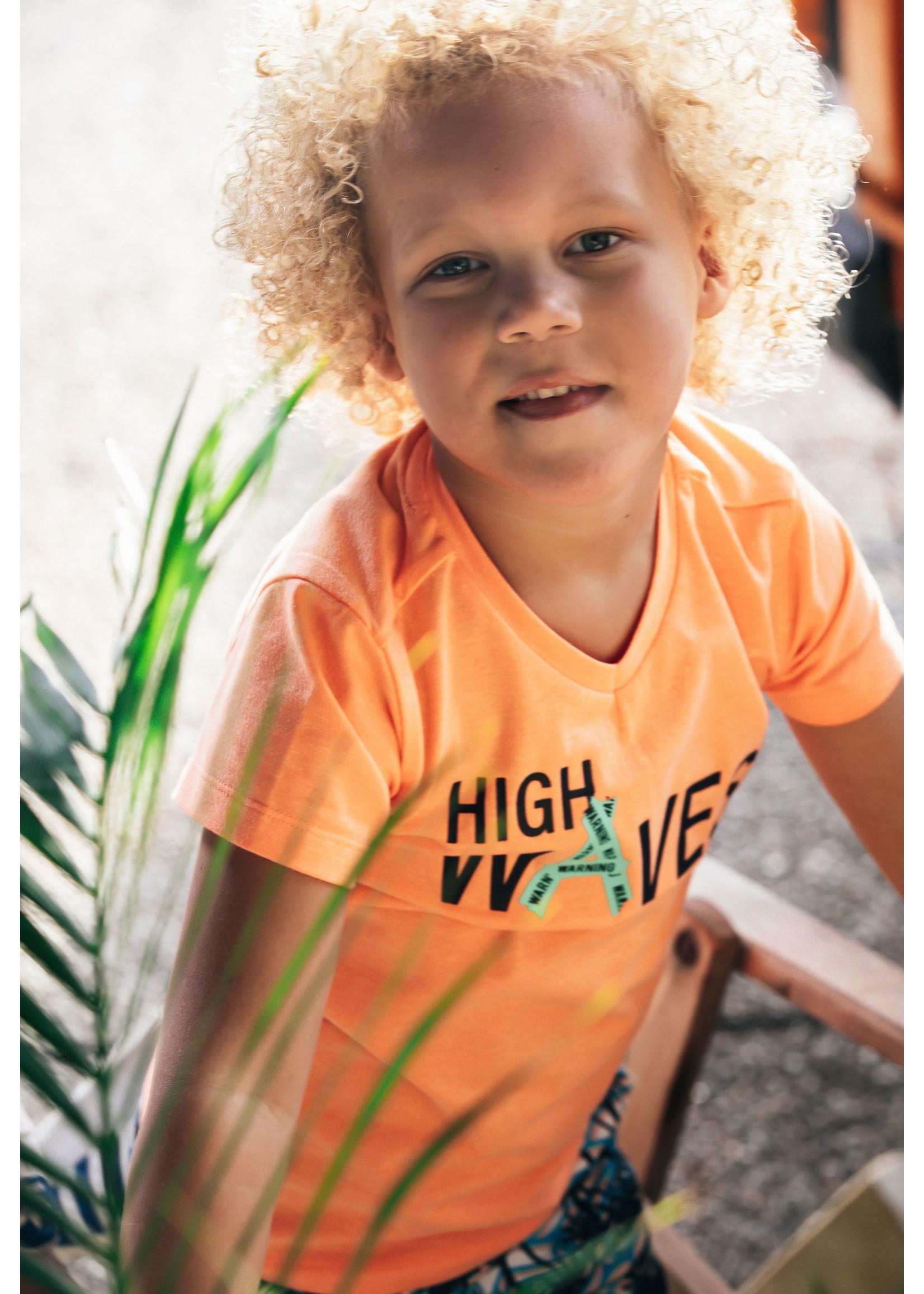 B.nosy Shirt Neon Orange