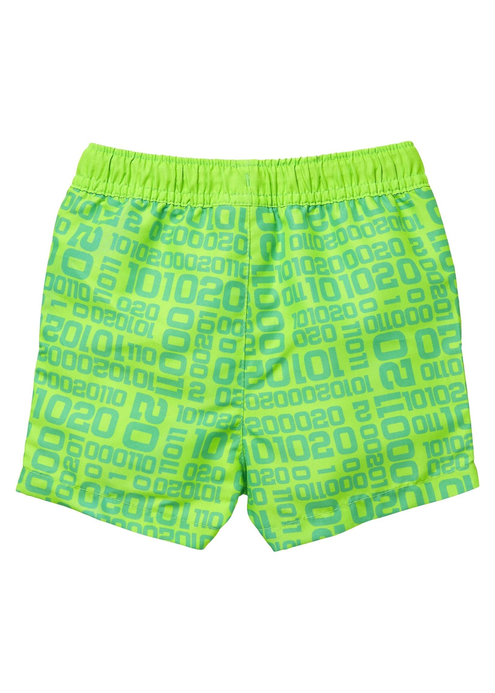 Quapi Swimwear Shorts Giani Neon