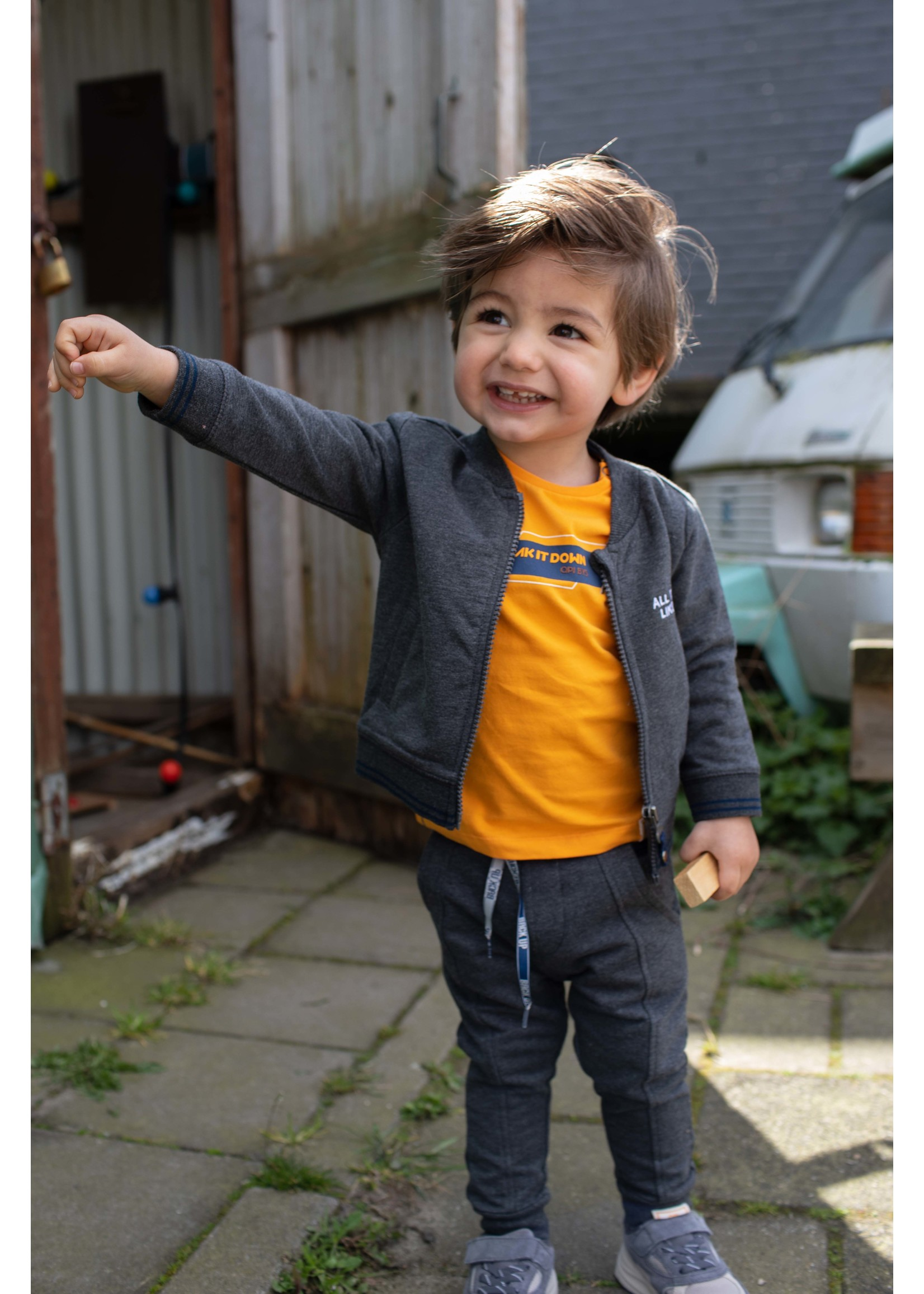 Quapi Longsleeve Lance Orange Yellow