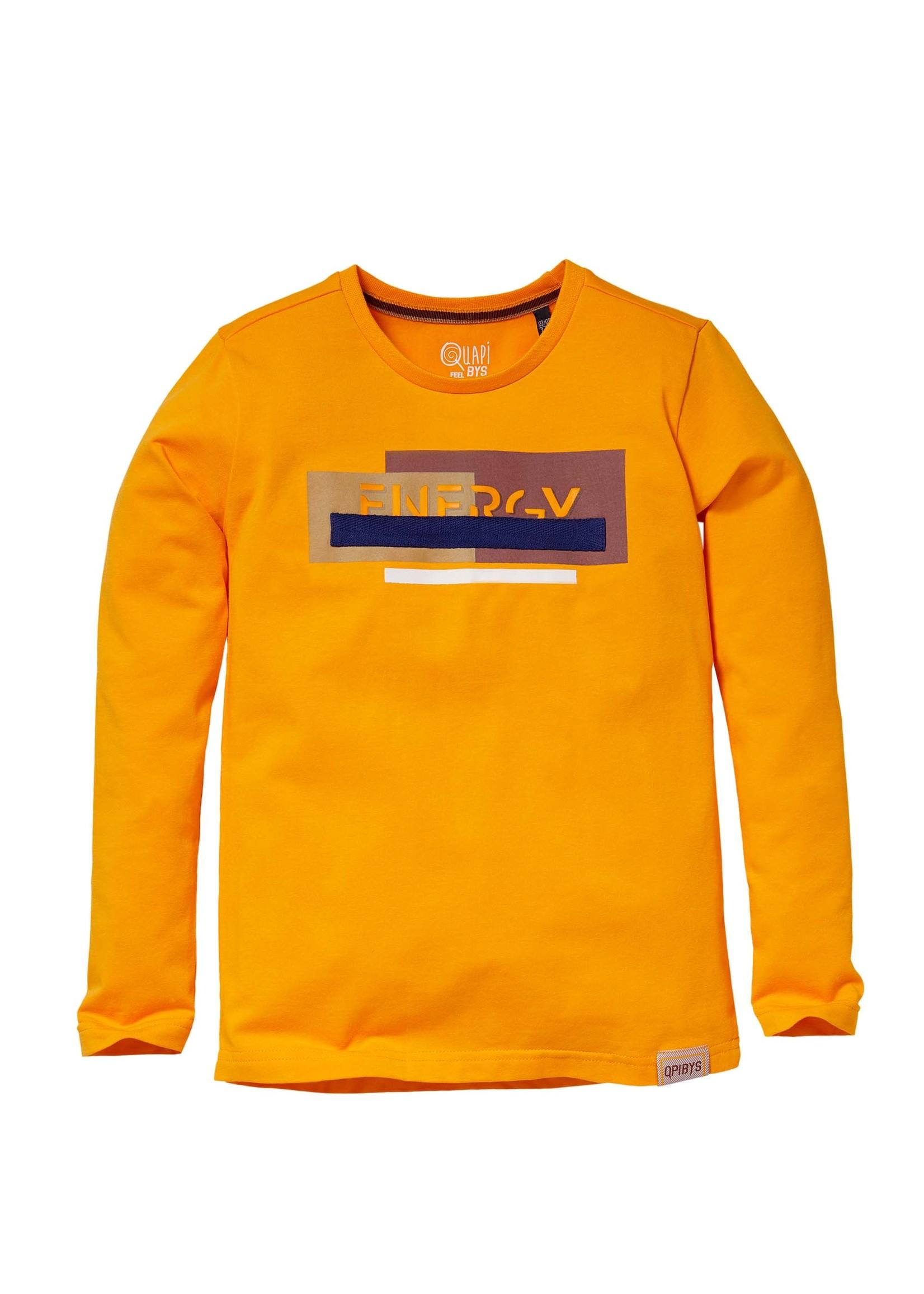 Quapi Longsleeve Kamel Orange Yellow