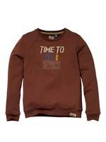 Quapi Sweater Kars Chestnut
