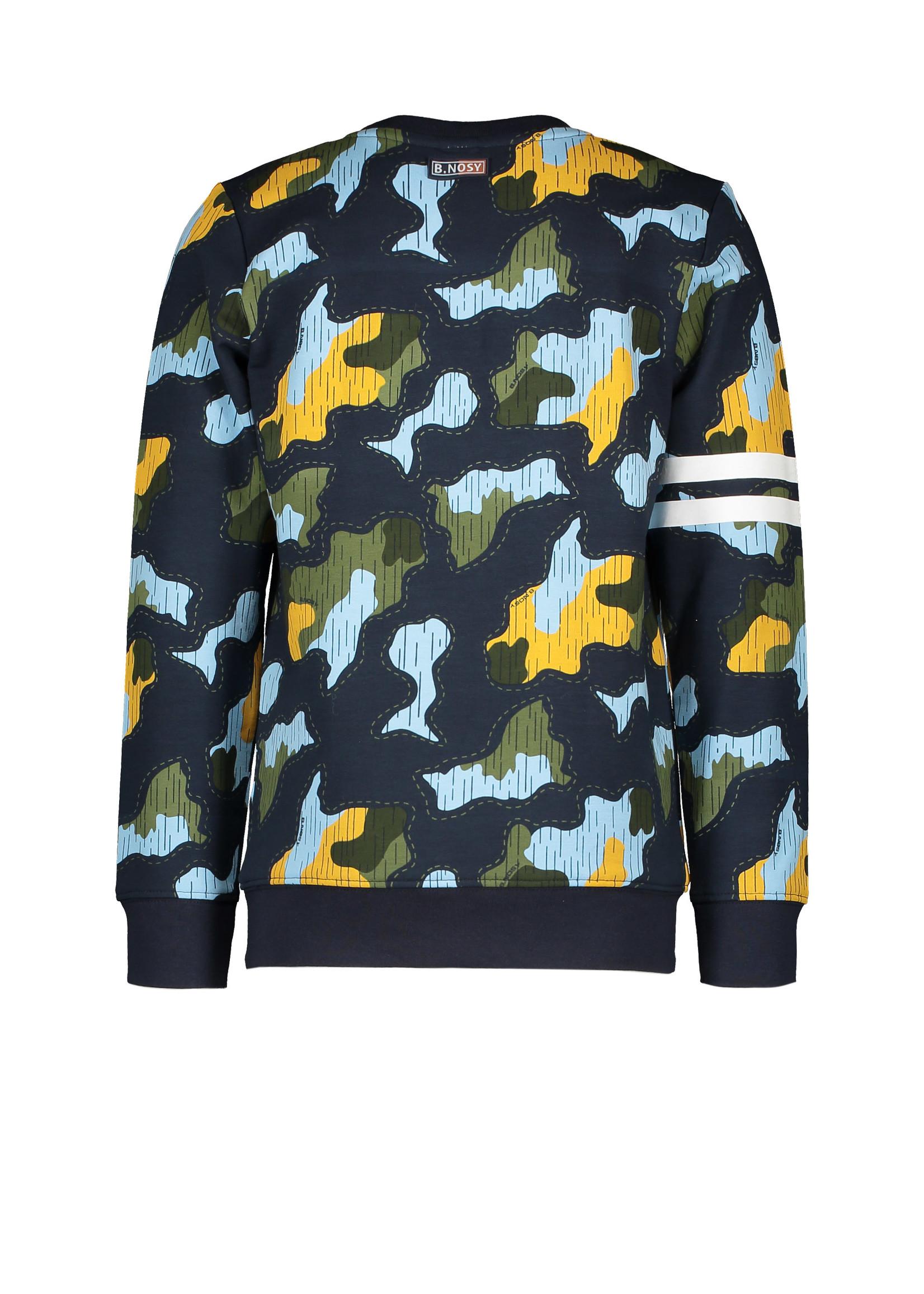 B.nosy Sweater Undercover Camo