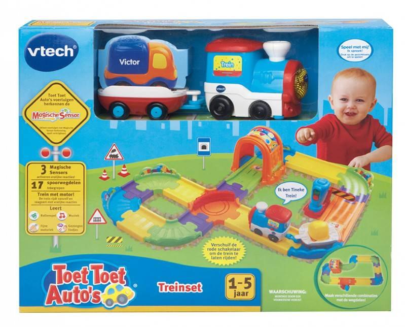 Vtech Toet Toet Auto's Treinset +12m