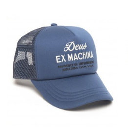 Deus Ex Machina House Trucker Blue