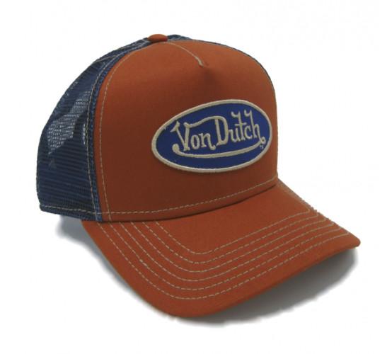 Von Dutch Trucker Orange/Blue