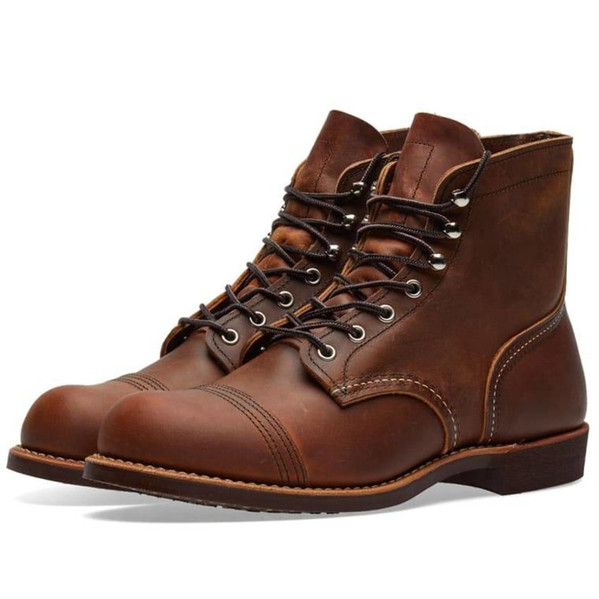 Red Wing Shoes 8085 Iron Ranger Copper