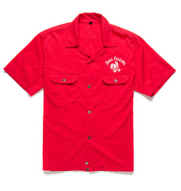 Deus Ex Machina Smile Back Shirt Red Molten