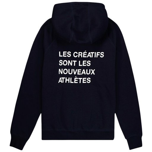 The New Originals CATNA French Hoodie Navy