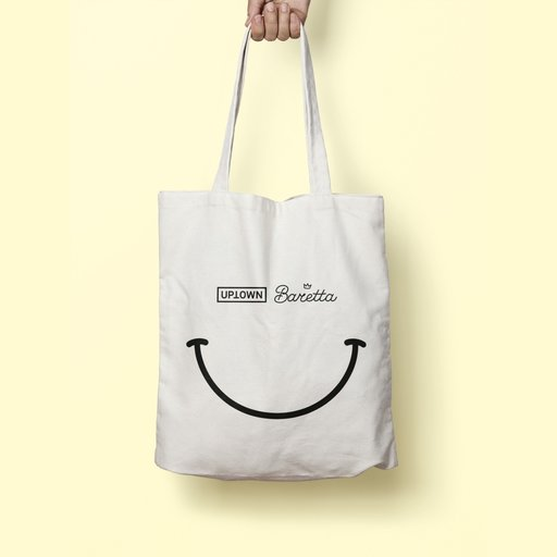 UPTOWN x Baretta Keep Smiling Tote Bag Large