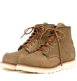 Red Wing Shoes Moc Toe Olive Mohave
