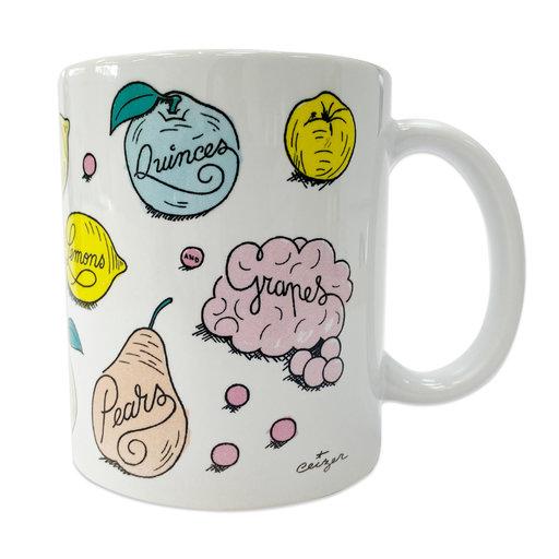 Ceizer Van Gogh Study & Sketch Mug