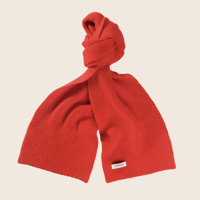 Le Bonnet Scarf Crimson Red