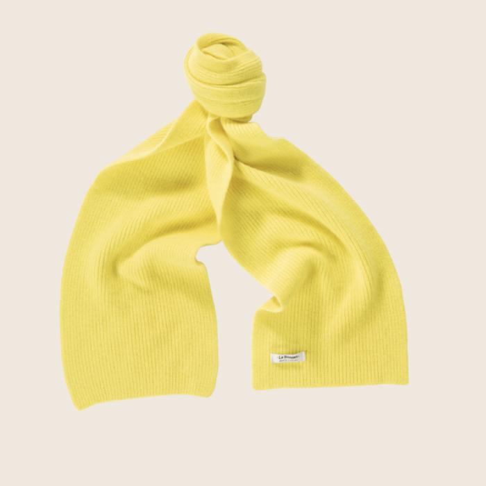 Le Bonnet Scarf Acid Yellow