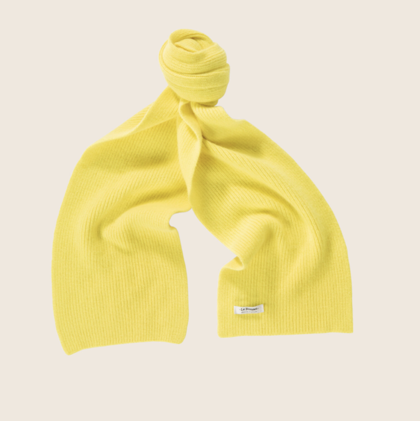 Le Bonnet Scarf Acid Yellow