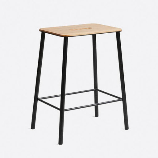 Frama CPH Adam Stool Oak Black H50