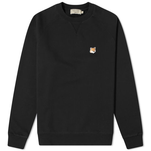 Maison Kitsuné  Fox Head Patch Classic Sweatshirt Black