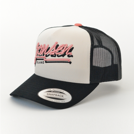 Jonsen Island Bubble Black Trucker