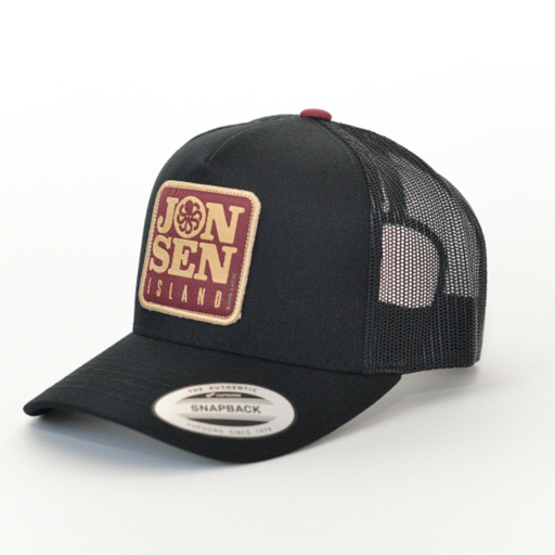Jonsen Island Mercury Black Trucker